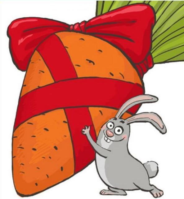 Поздравление с днём рождения заяц