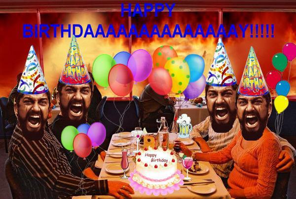 С днём рождения крутое поздравление