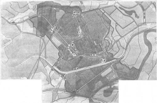 План развития дорожной сети г.Красногорска от 1985 г.jpg
